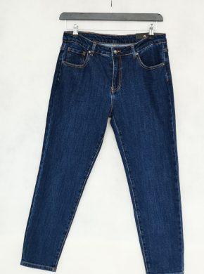 Mėlyni moteriški džinsai