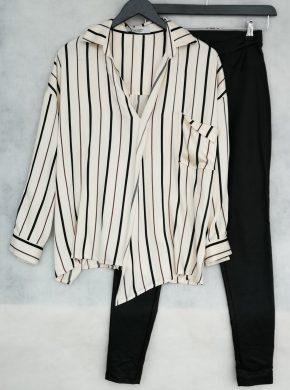 dryžuoti marškiniai ir kelnės New York