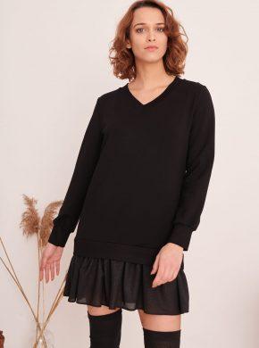 juoda suknele